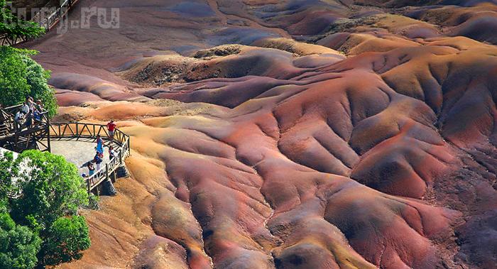 Цветные пески Шамарель фото 4