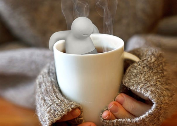 заварник для чая в виде человечка