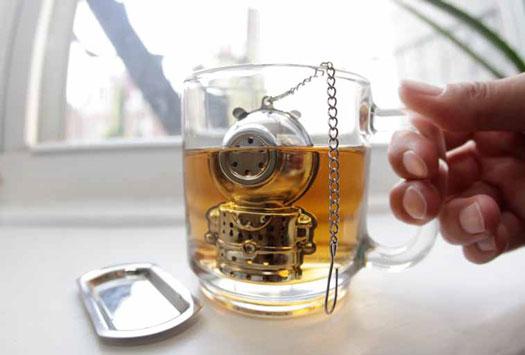 водолаз - заварник для чая