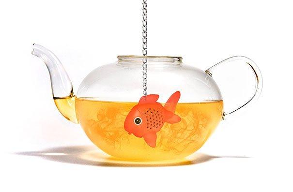 рыбка - заварник для чая