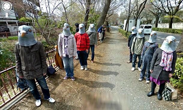 Странные фото в Google Street View