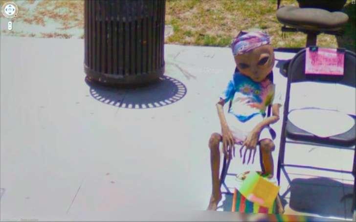 Жуткие фото в Google Street View