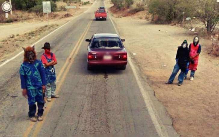 Странные фото в Google Street View 4