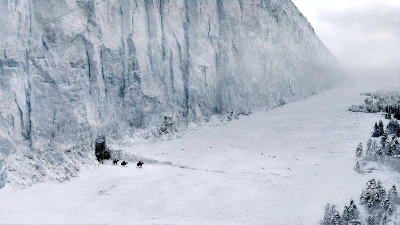 """Ледяная стена в """"Игре престолов"""""""
