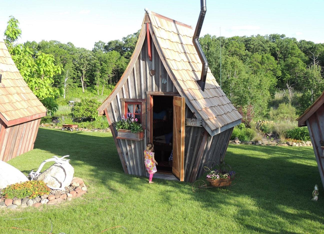 Деревянные домики фото 2