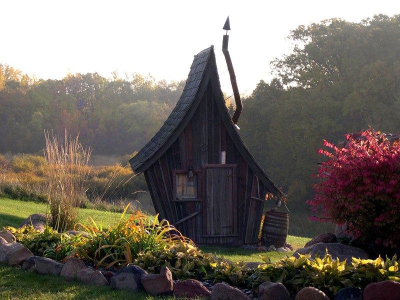Деревянные домики фото 3