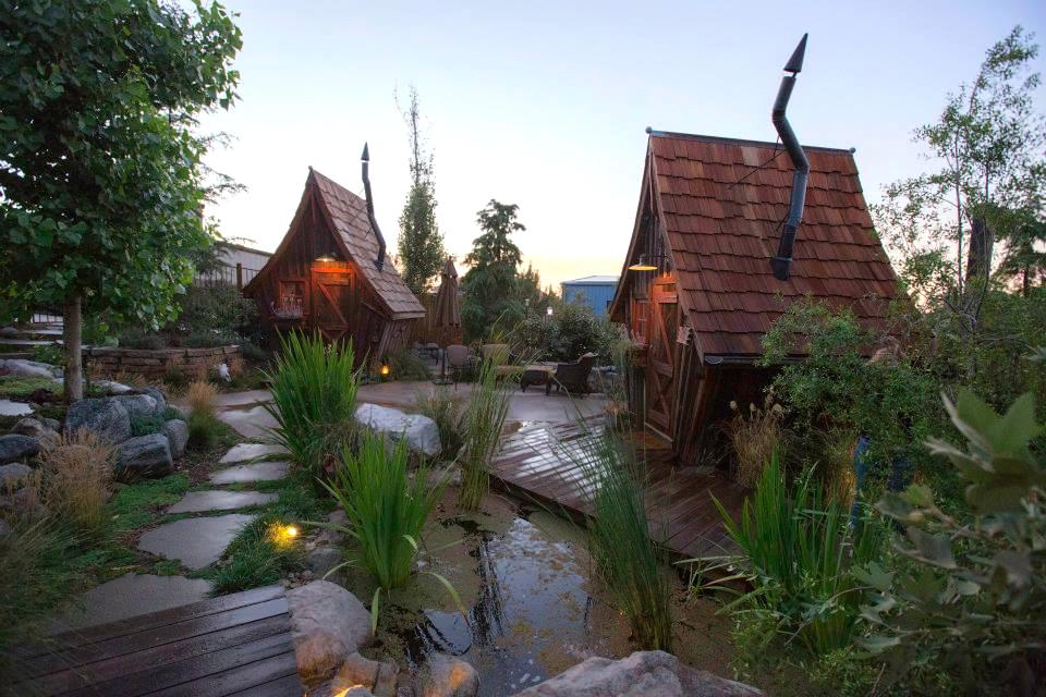 Деревянные домики фото 5
