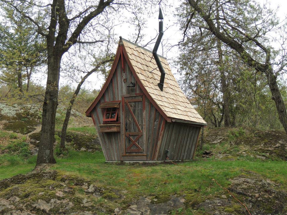 Деревянные домики фото 6