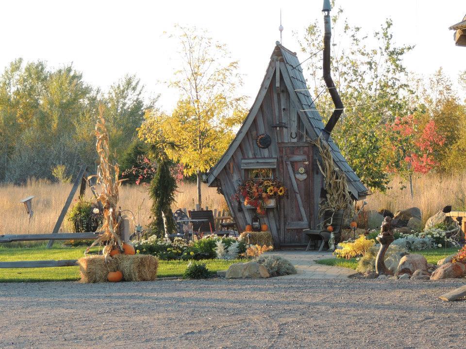 Деревянные домики фото 7