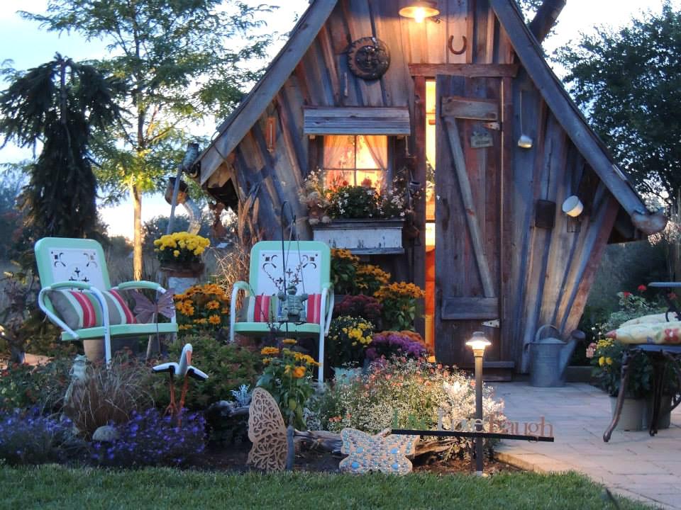 Деревянные домики фото 8