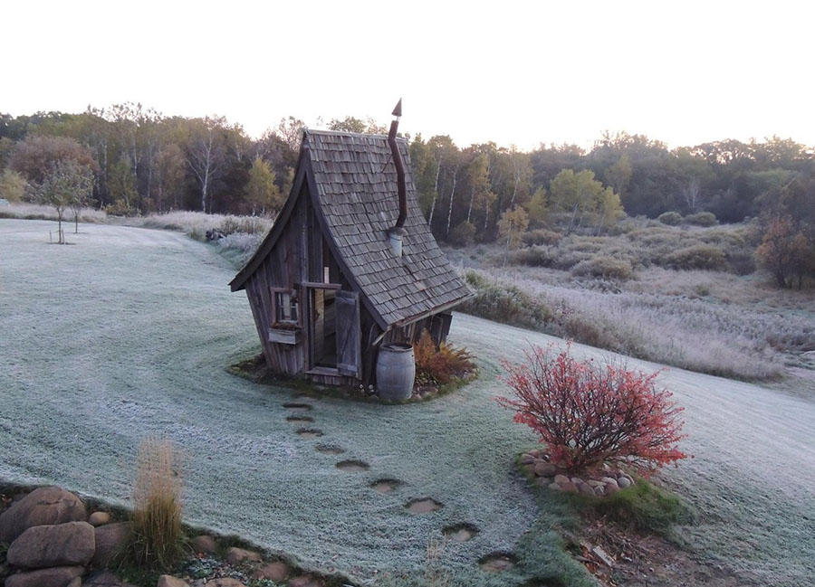 Деревянные домики фото 9