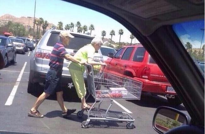 Старики чудят