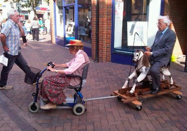 Смешные старики