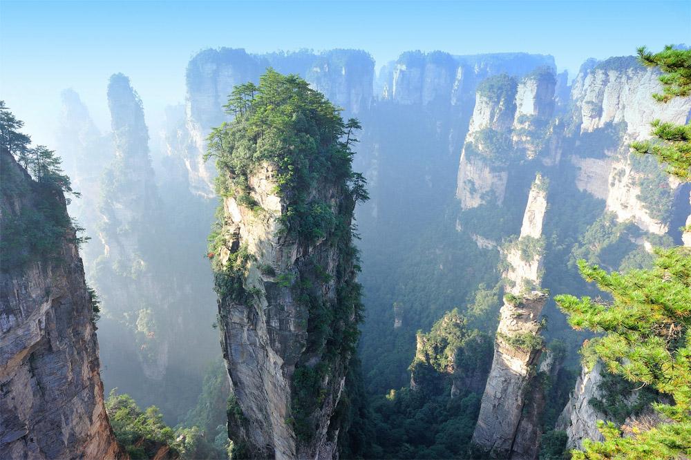 Горы Тянцзи