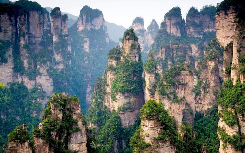 Горы Тянцзи, фото 2