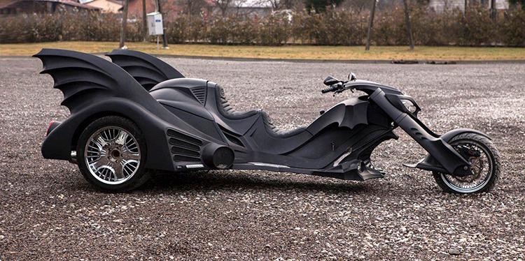 Мотоцикл как у Бетмена фото 1