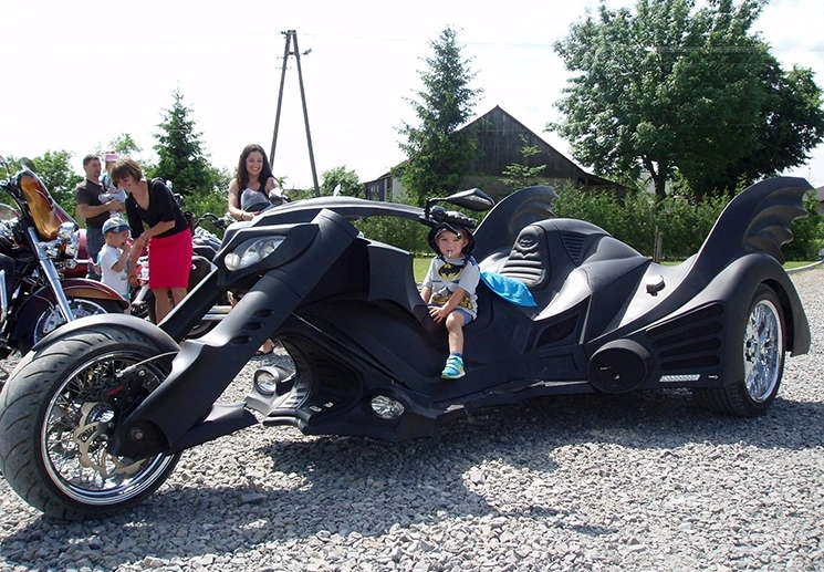 Мотоцикл как у Бетмена фото 3