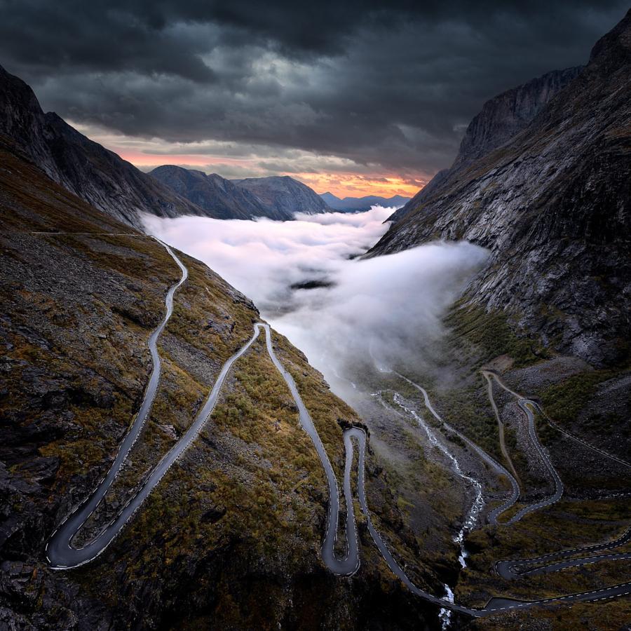 Пейзажи, укутанные туманом 11