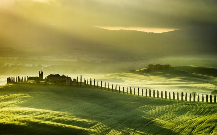 Пейзажи, укутанные туманом 2