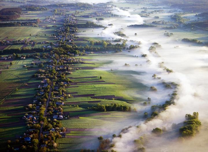 Пейзажи, укутанные туманом 4