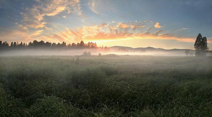 Пейзажи, укутанные туманом 9