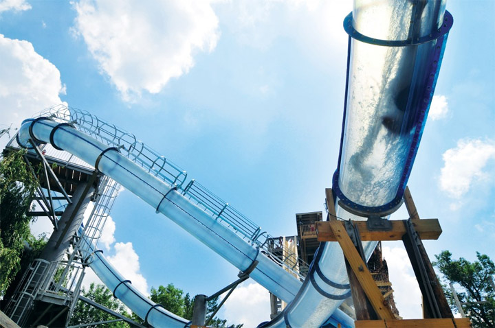 Scorpion's Tail water slides