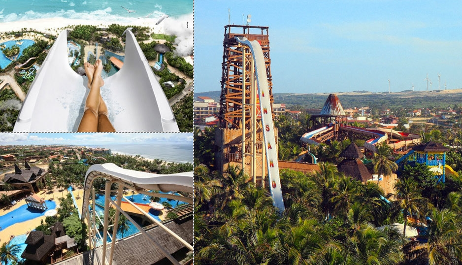 Insano water slides