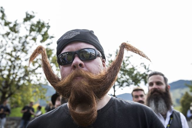 Фестиваль усов и бород фото 4