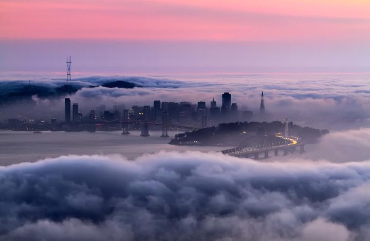 Туман над Сан-Франциско