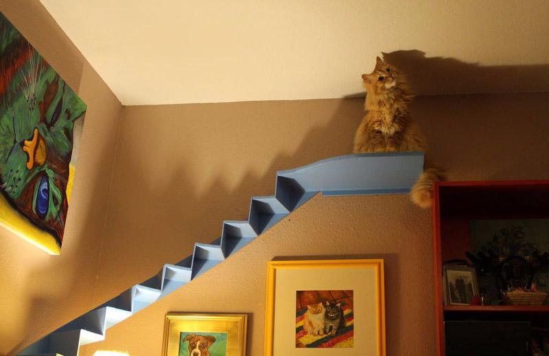 Подиум для кота