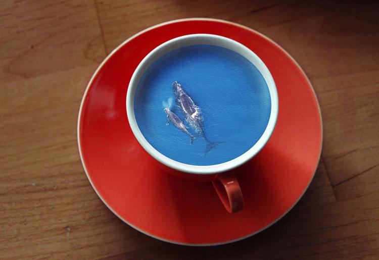 Пейзажи в кружке кофе 2