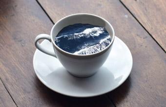 Картины в кофейной чашке