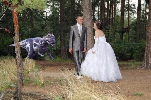 Неудачные свадебные фото 3