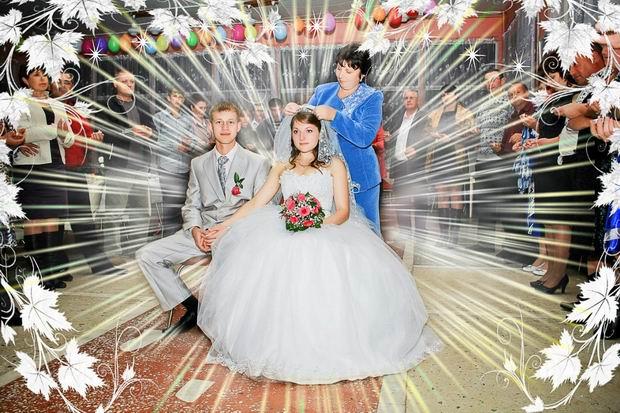 Неудачные свадебные фото 5