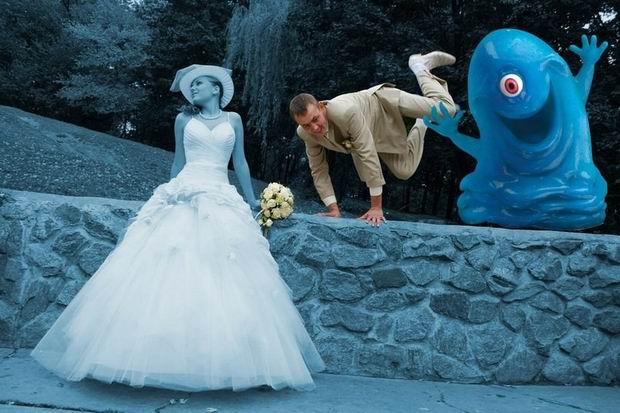 Неудачные фото со свадеб 5