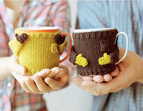 Оригинальный свитер для кружки