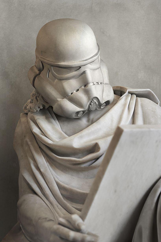 статуи героев звездных войн