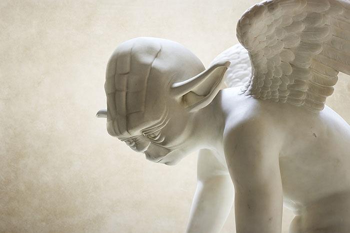 магистр йода статуя