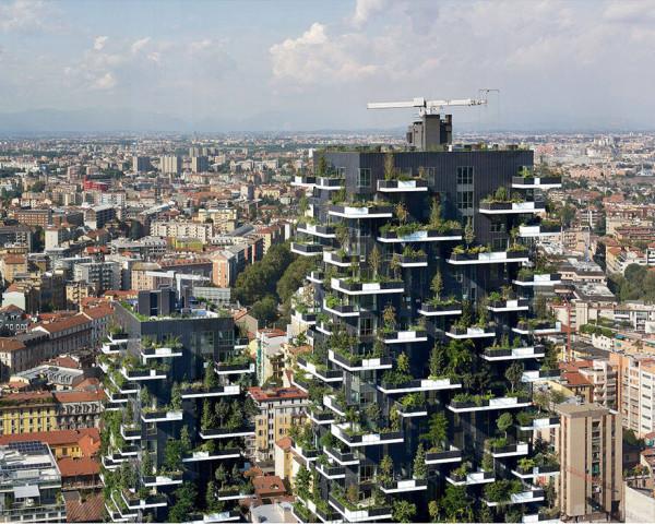 Дом, который уже построен в Милане