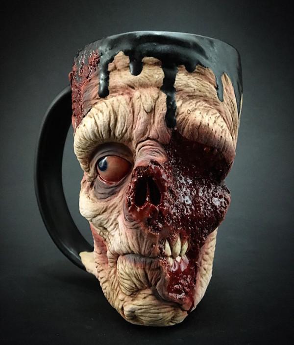 кофе из кружки зомби