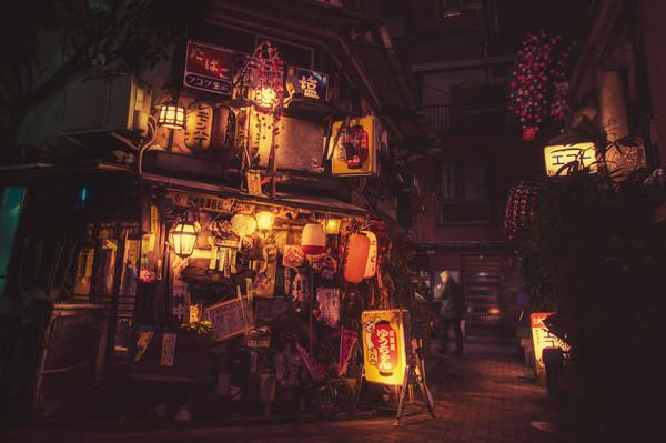 магазинчик в ночном токио