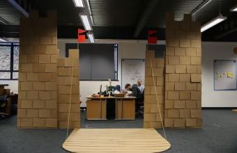 замок в офисе - результат
