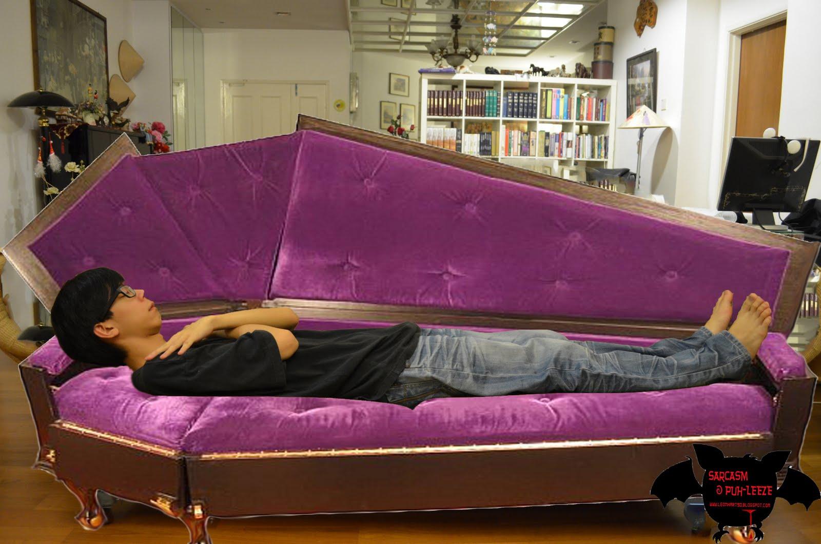 Кровать-гроб