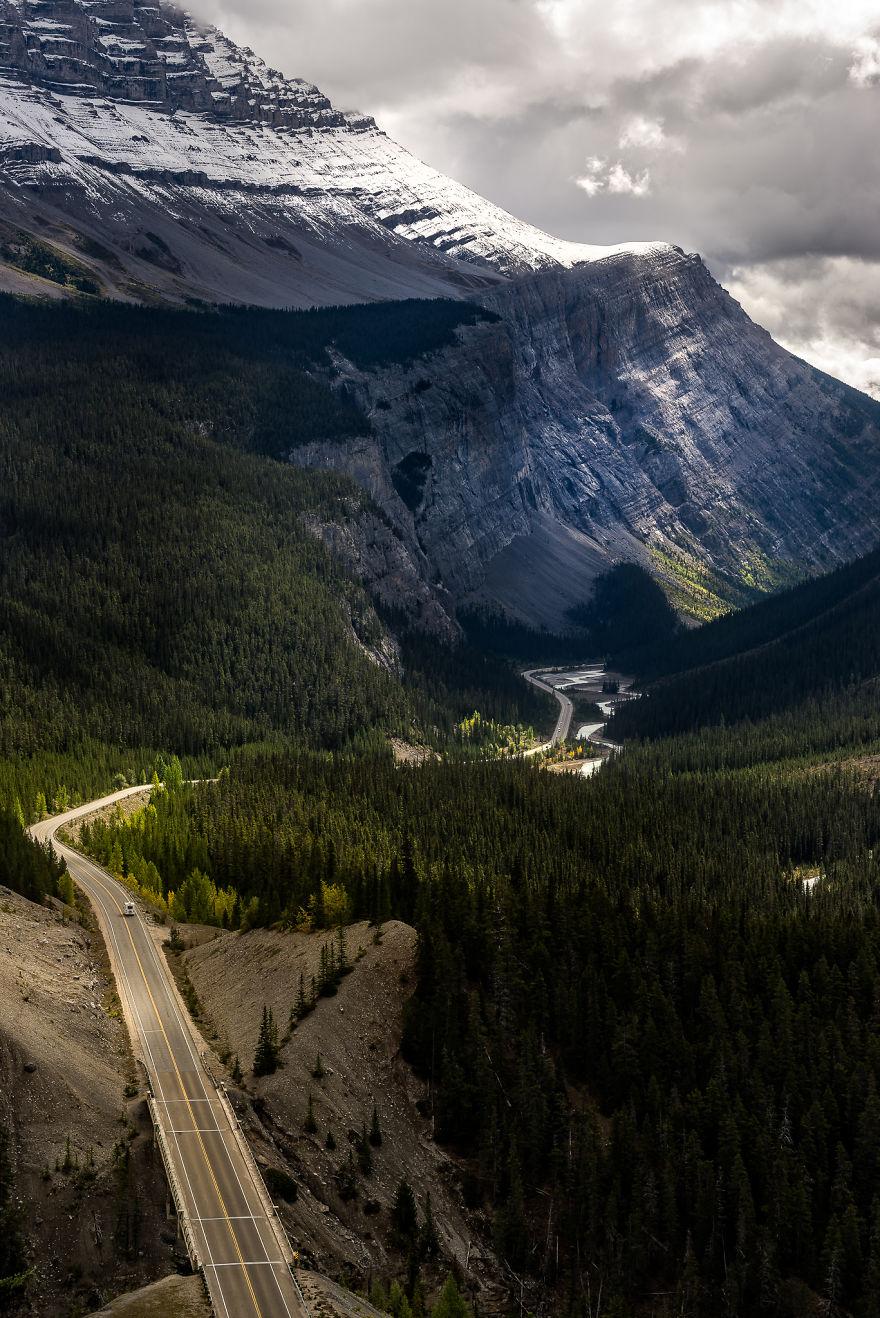 Ледник Парквей Канада