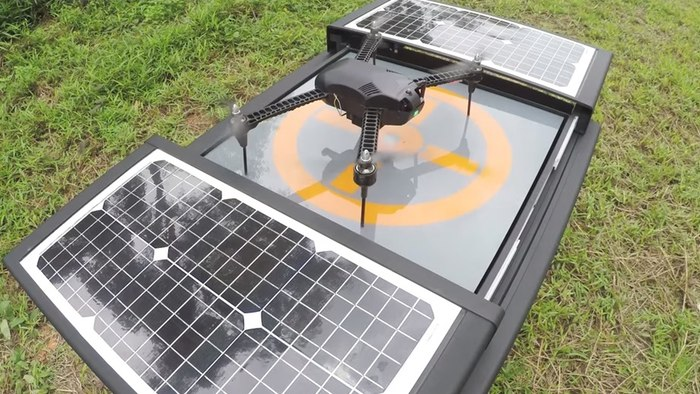 автономная платформа dronebox