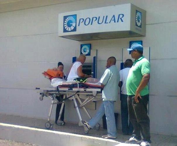 банкомат в Доминиканской республики