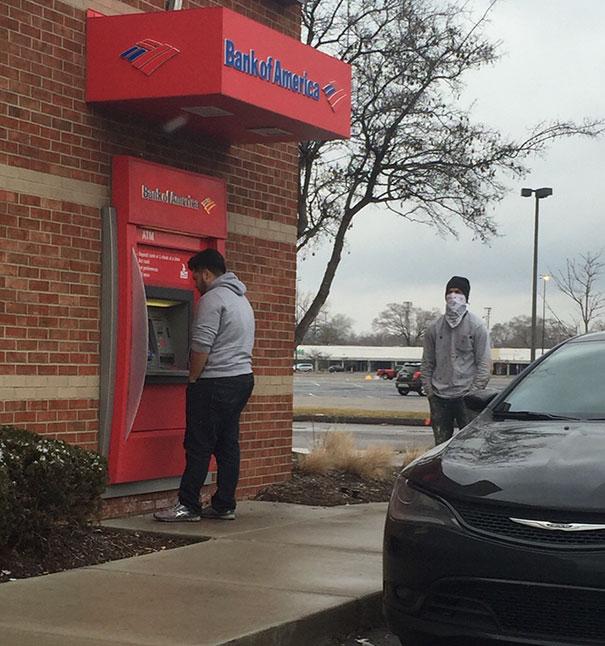 банкомат в детроите