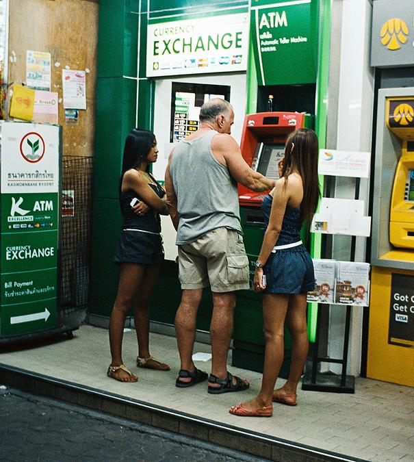 банкомат в таиланде
