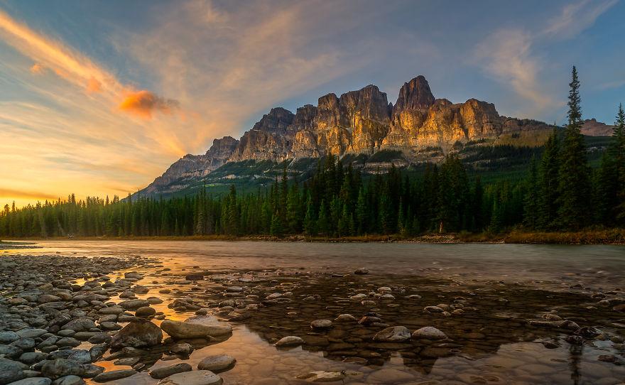 горы в Канаде фото