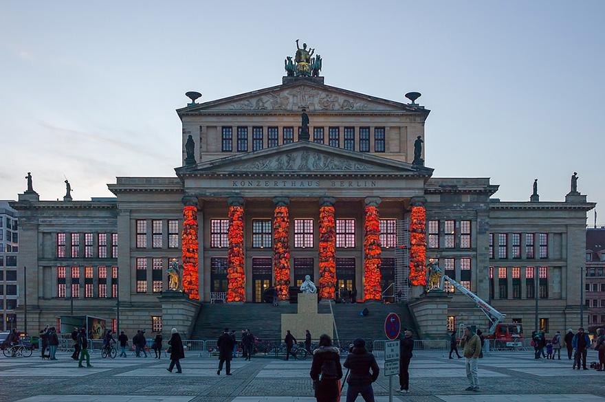 концертхаус Берлина украсили